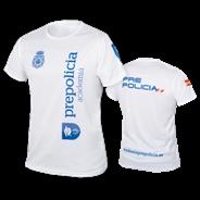 Imagen de la camiseta de la Academia Prepolicía